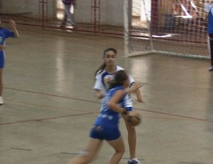 Clarisse Lispector vence Castro Alves por 29 a 11 nas Olimpíadas Escolares de Rondônia (Foto: Reprodução/TV Rondônia)