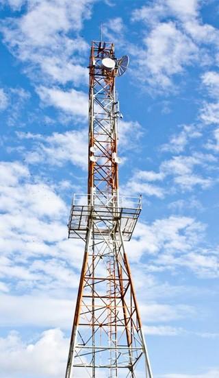 Torre RPC TV Cascavel (Foto: Cleverson José/RPC TV)