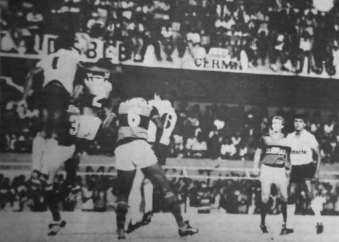 Central 2x1 Flamengo, pelo Brasileiro 1986 (Foto: Sérgio Pepeu / Arquivo Pessoal )