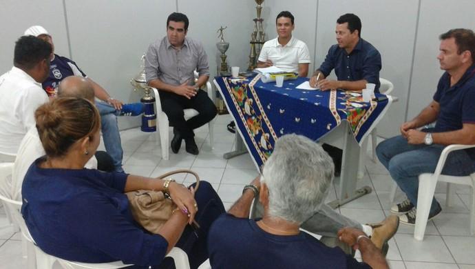 Diretoria do São Francisco discute promover atividades sociais junto à torcida (Foto: Divulgação/São Francisco Futebol Clube)