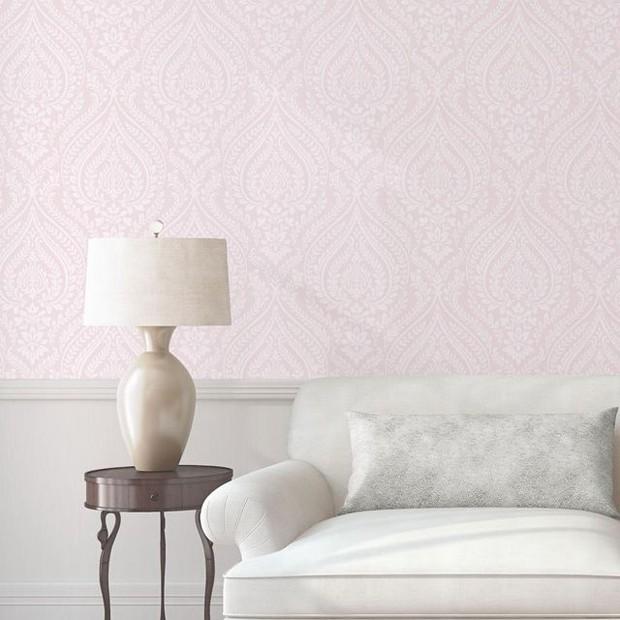 papel-de-parede-rosa (Foto: Reprodução/Elle Decor)