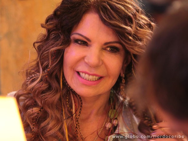 Elba Ramalho (Foto: Flor do Caribe / TV Globo)