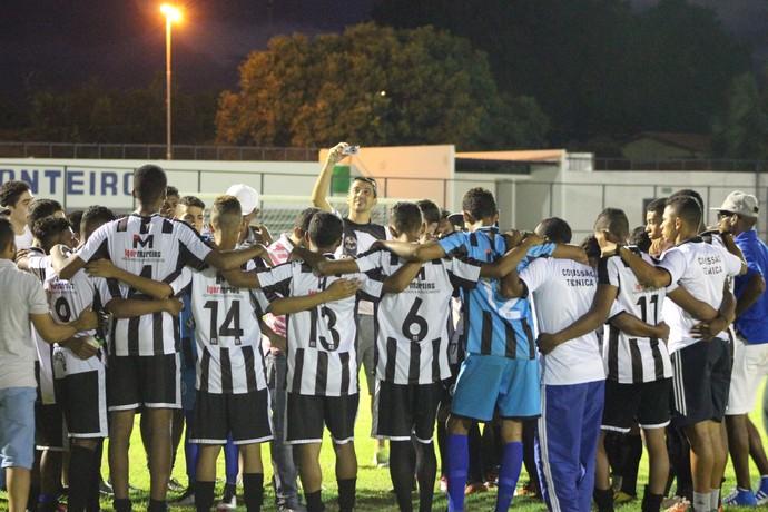 River-PI x Cori-Sabbá final Piauiense sub-19 (Foto: Stephanie Pacheco)