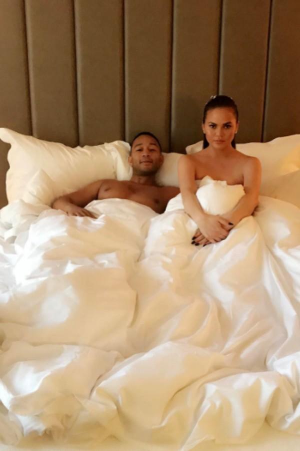 Chissy com o marido, John Legend (Foto: Reprodução/Instagram)