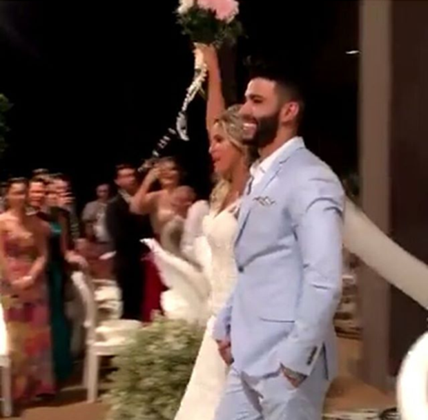 Casamento Gusttavo Lima e Andressa Suita (Foto: Instagram / Reprodução)