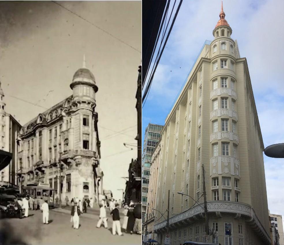 Hotel Pálace foi reformado e reaberto há três meses, em Salvador (Foto: Arte/G1)