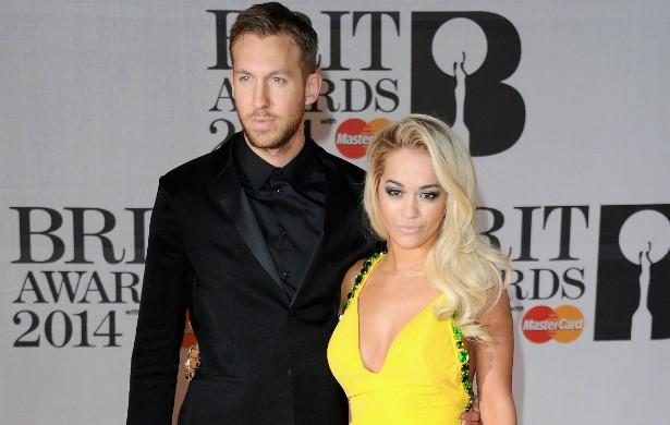 A cantora Rita Ora, no início de 2014, rompeu com o dj Calvin Harris. (Foto: Getty Images)