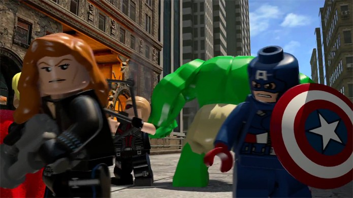 LEGO Avengers traz os Vingadores para a batalha de Nova York em versão LEGO (Foto: Reprodução/YouTube)