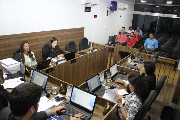 Julgamentos ocorreram nesta segunda-feira, na sede do TJD-AM (Foto: Antônio Assis/FAF-AM)