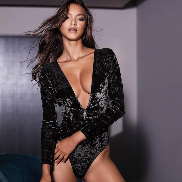 Ainda fico nervosa, claro!, diz Lais sobre o Victorias Secret Fashion Show (Foto: Reprodução/Instagram)