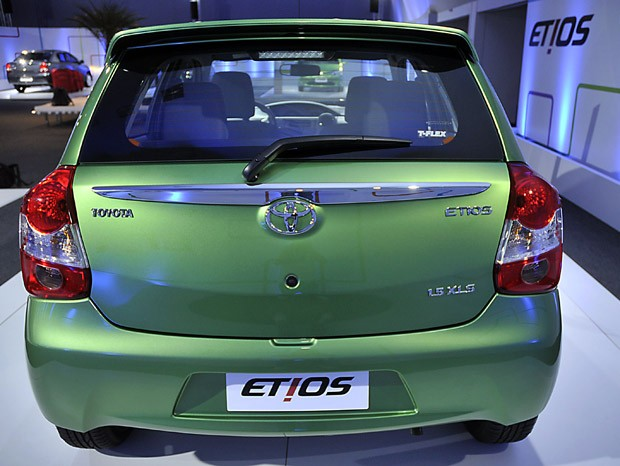Etios tem estilo diferenciado, o que aumenta opção na categoria (Foto: Teylor Soares/G1)