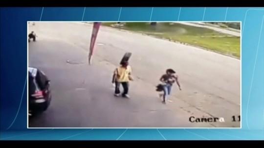 Após susto, homem atingido por pneu segue hospitalizado