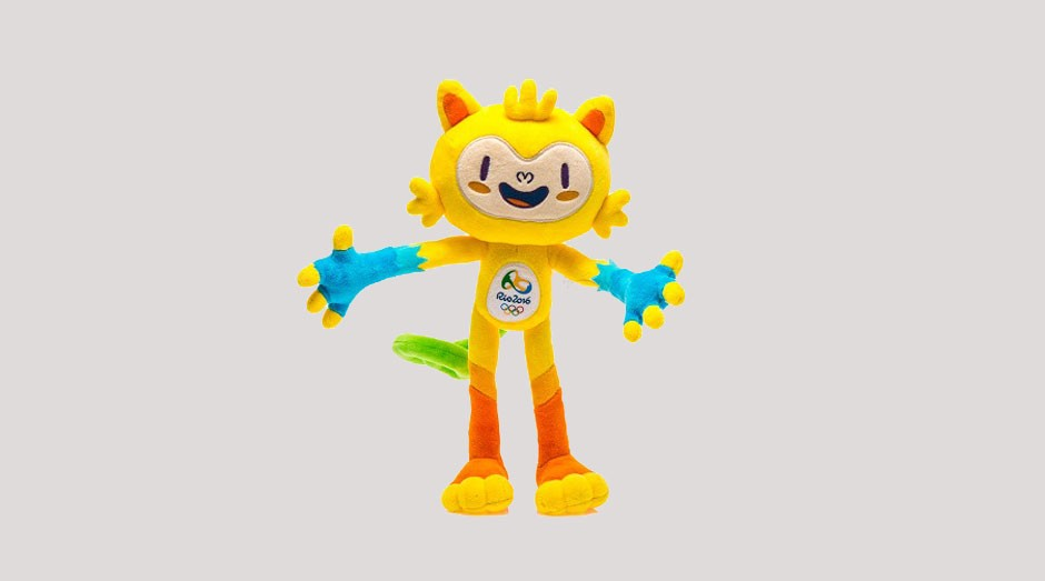 Mascote das Olimpíadas: preços exorbitantes na loja da vila (Foto: Divulgação)