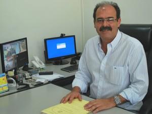 Paulo Ronan, prefeito de Águas de São Pedro (Foto: Divulgação/Prefeitura)