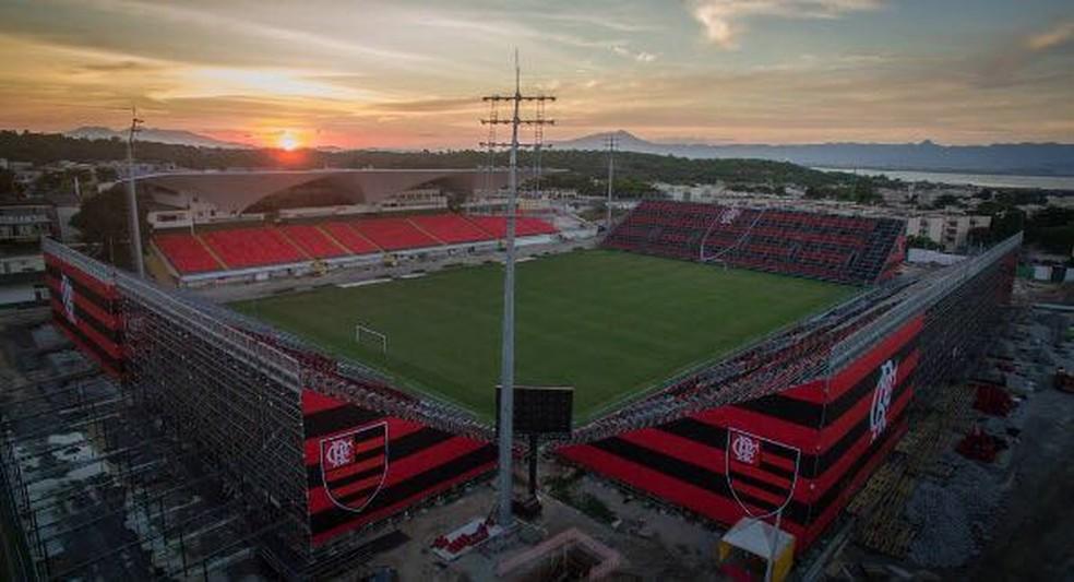 Arena da Ilha foi a casa do Botafogo no Brasileiro 2016 (Foto: Divulgação/Flamengo)