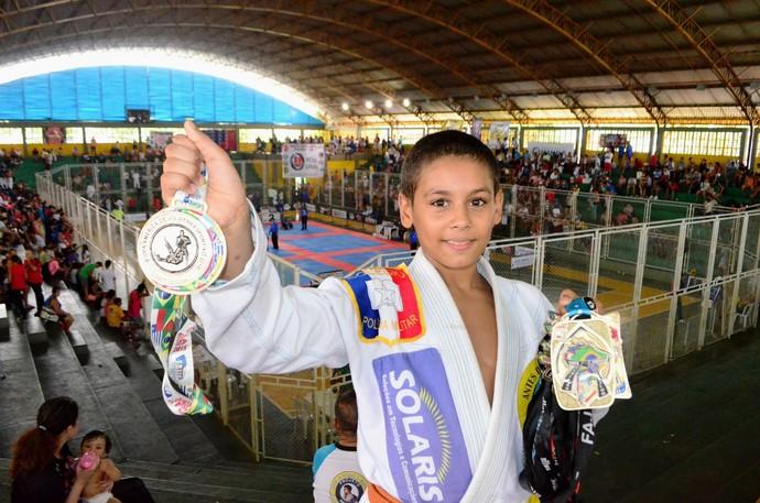 Micael Galvão copa américa de jiu-jitsu manaus (Foto: Emanuel Mendes Siqueira)