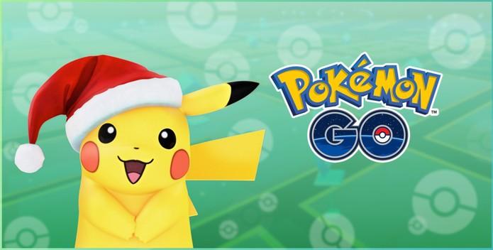 Novos pokémon são adicionados ao jogo e evento de Natal — Pokémon GO