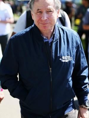 Jean Todt no GP da Austrália (Foto: Getty Images)