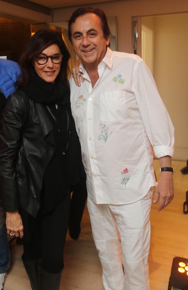 Christiane Torloni e Ricardo Rique (Foto: Eny Miranda)
