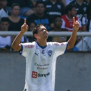 Yago Pikachu, Botafogo x Paysandu Série B 2015 (Foto: Agência Estado)