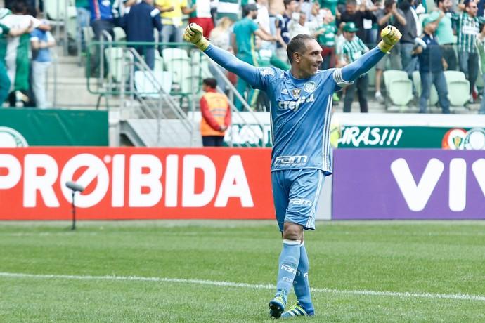 Fernando Prass Palmeiras Atlético-PR (Foto: Adriana Spaca/Estadão Conteúdo)
