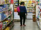 Consumidores estimam menos inflação para os próximos 12 meses