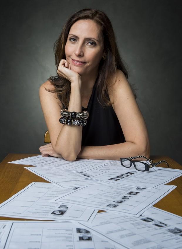 Claudia Souto, autora de 'Pega Pega' (Foto: Mauricio Fidalgo/TV Globo)