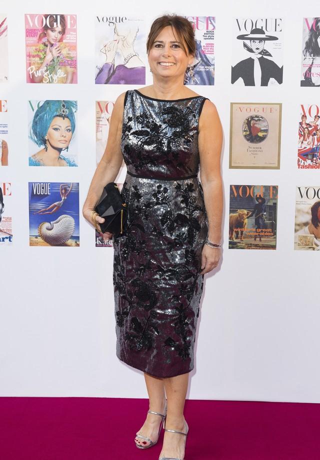 Alexandra Shulman na festa de cem anos da Vogue britânica (Foto: Getty Images)