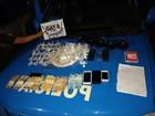 PM detém quatro e apreende crack, cocaína e arma em Campos, no RJ