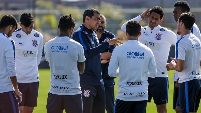 Fabio Carille Corinthians (Foto: Rodrigo Gazzanel/Ag. Corinthians)