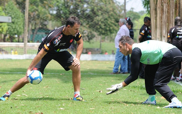 Carlos Germano e Fernando Prass, Vasco (Foto: Marcelo Sadio/vasco.com.br)