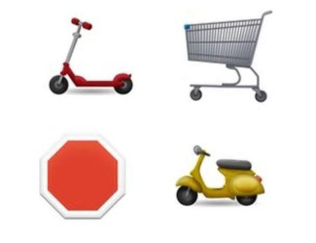 Os novos emojis também trazem novos meios de transporte (Foto: Divulgação/Emojipedia)