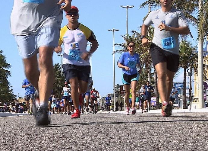 Participantes do MTV 2016 correram a Volta de Aracaju, no último dia 15 de novembro (Foto: Reprodução / TV Sergipe)