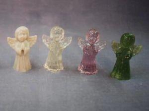 Casal vendiam anjinhos de resina antes da fábrica (Foto: Arquivo Pessoal / Fabiana Franceschi)