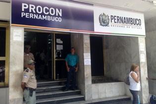 Procon de Pernambuco fica no Centro do Recife (Foto: Ascom Procon-PE)