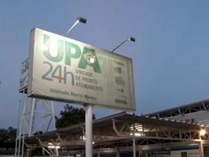 Unidade de Pronto Atendimento (UPA) de Barra Mansa, RJ (Foto: Reprodução/TV Rio Sul)