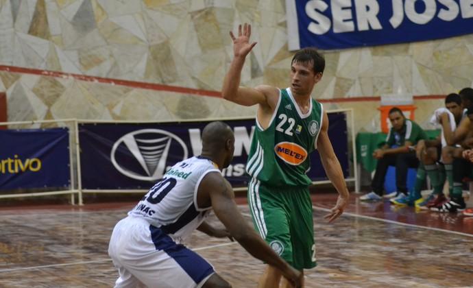 Stanic Palmeiras x São José Basquete  (Foto: Filipe Rodrigues)