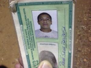 Renne Silva Barbosa morreu na hora (Foto: Kléber Teixeira/Inter TV Cabugi)