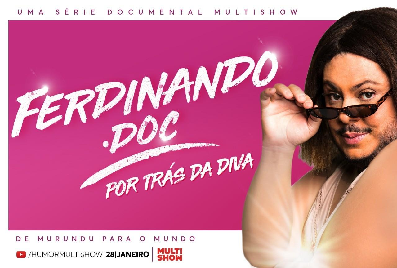 'Ferdinando.doc' - Webdocumentrio do maior concierge do Brasil no Humor Multishow a partir do dia 28/01 (Foto: Divulgao)