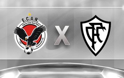 Águia Negra x Corumbaense (Foto: Arte: Lucas Lourenço)