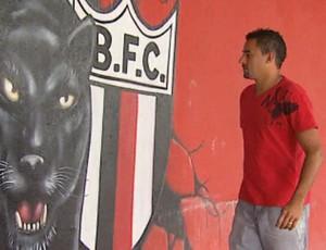 Luciano Ratinho, ex-jogador do Botafogo-SP (Foto: Reprodução EPTV)