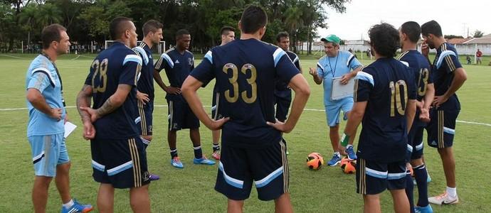 Treino Palmeiras Gilson Kleina (Foto: Cesar Greco/Ag Palmeiras/Divulgação)