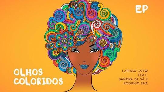 Larissa Lahw grava com Sandra de Sá; DJ já participou do 'Carona'