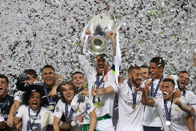 Real Madrid taça Liga dos Campeões (Foto: Reuters)