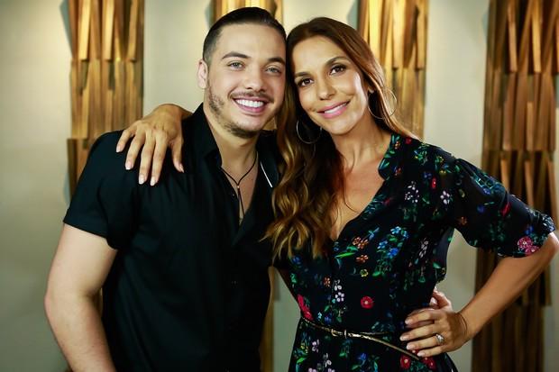 Wesley Safadão e Ivete Sangalo gravam clipe juntos (Foto: Rafa Mattei/Divulgação)