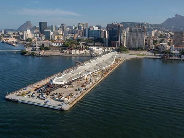 Museu do Amanhã começou a ser construído em 2012 (Foto: Facebook/ Rio Cidade Olímpica)