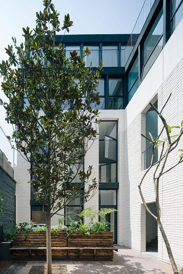 Edifício Córdoba-Reurbano Cidade do México (Foto: Miguel de Guzmán / divulgação)
