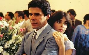 """José Mayer e Deborah Evelyn em """"A Gata Comeu"""""""