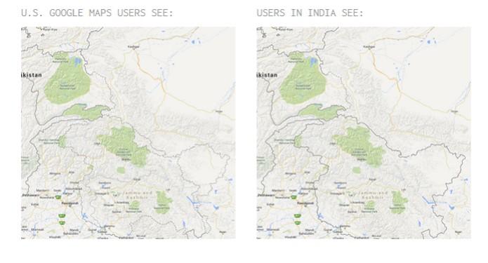 Territórios são alvo de disputa entre Índia e Paquistão  (foto: Reprodução) (Foto: Territórios são alvo de disputa entre Índia e Paquistão  (foto: Reprodução))