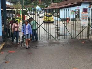 Entrada do Lar de Frei Luiz (Foto: Hernique Almeida/G1)
